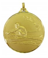 Diamond Edged Rowing Gold Medal