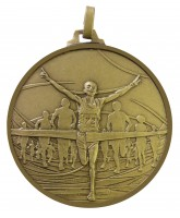 Diamond Edged Running Winners Bronze Medal