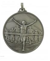 Diamond Edged Running Winners Silver Medal