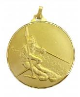 Diamond Edged Skiing Gold Medal