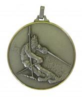 Diamond Edged Skiing Silver Medal