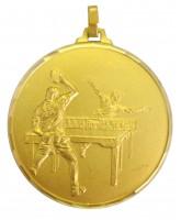 Diamond Edged Table Tennis Gold Medal