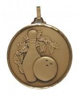 Diamond Edged Ten Pin Bowling Bronze Medal