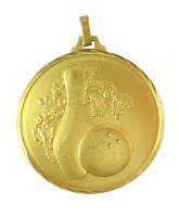 Diamond Edged Ten Pin Bowling Gold Medal
