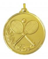 Diamond Edged Tennis Gold Medal