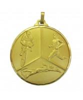 Diamond Edged Triathlon Gold Medal