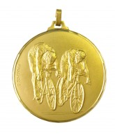 Diamond Edged Twin Cycling Gold Medal