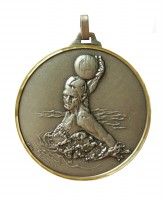 Diamond Edged Water Polo Silver Medal
