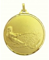 Diamond Edged Water Skiing Gold Medal