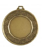 Earth Logo Insert Bronze Brass Medal