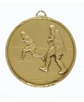 Embossed Economy Female Hockey Bronze Medal