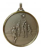 Embossed Economy Netball Silver Medal