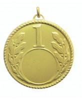 First Place Laurel Logo Insert Brass Gold Medal