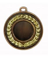 Gilt Laurel Logo Insert Gold Medal