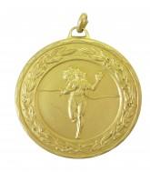 Ladies Athletics Gold Running Laurel Medal