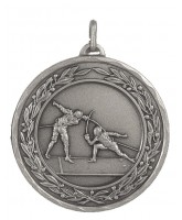 Laurel Fencing Silver Medal