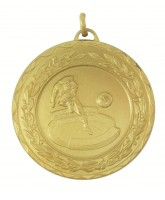 Laurel Football Stadium Striker Gold Medal
