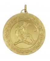 Laurel Football Tackle Gold Medal