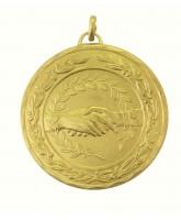 Laurel Handshake Gold Medal
