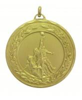 Laurel Rugby Line Out Gold Medal