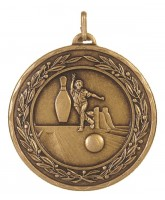 Laurel Tenpin Bowling Bronze Medal
