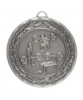 Laurel Weightlifting & Powerlifting Silver Medal