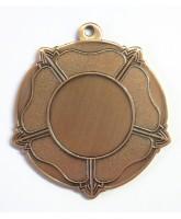 Tudor Rose Logo Insert Bronze Medal
