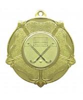 Tudor Rose Logo Insert Gold Medal
