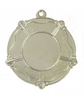 Tudor Rose Logo Insert Silver Medal