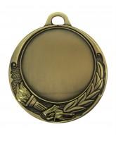 Victory Golden Torch Logo Insert Gold Medal