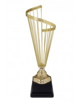 Harp Gold Plated Metal Trophy