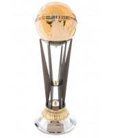 King Titanium Metal & Ceramic Globe Award