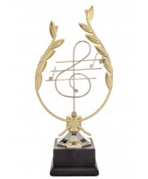Ludwig Gold Plated Music Trophy