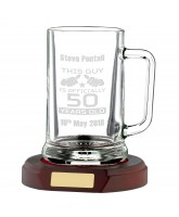 Economy 1 Pint Crystal Tankard (Base not included)