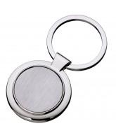 Metal Round Keyholder with logo Insert