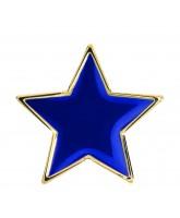 School Blue Colour Star Badge