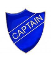 School Captain Shield Badge (4 colours)