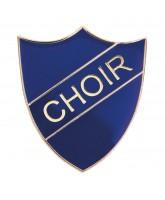 School Choir Shield Badge (4 colours)