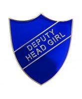 School Deputy Head Girl Shield Badge (4 colours)