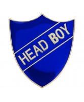 School Head Boy Shield Badge (4 colours)