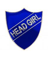 School Head Girl Shield Badge (4 colours)