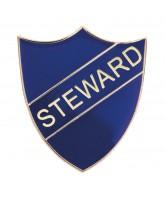 School Steward Shield Badge (4 colours)