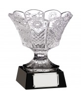 Value Glass Bowl on Black Base