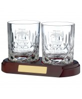 Whisky Glass ¾ Cut Crystal (Base not included)