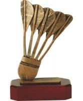 Aalst Pewter Badminton Trophy