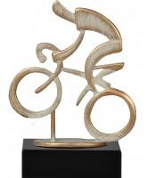 Henin Cast Metal & Pewter Cycling Trophy