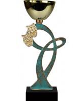 Leuven Pewter Drama Trophy Cup