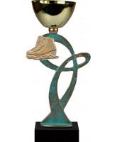Leuven Pewter Ice Skating Trophy Cup