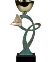 Leuven Pewter Sailing Trophy Cup