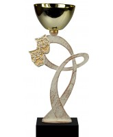 Mons Pewter Drama Trophy Cup
